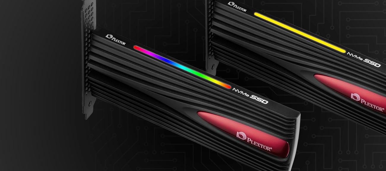 Dysk SSD Plextor M9Pe(Y) Podświetlenie LED