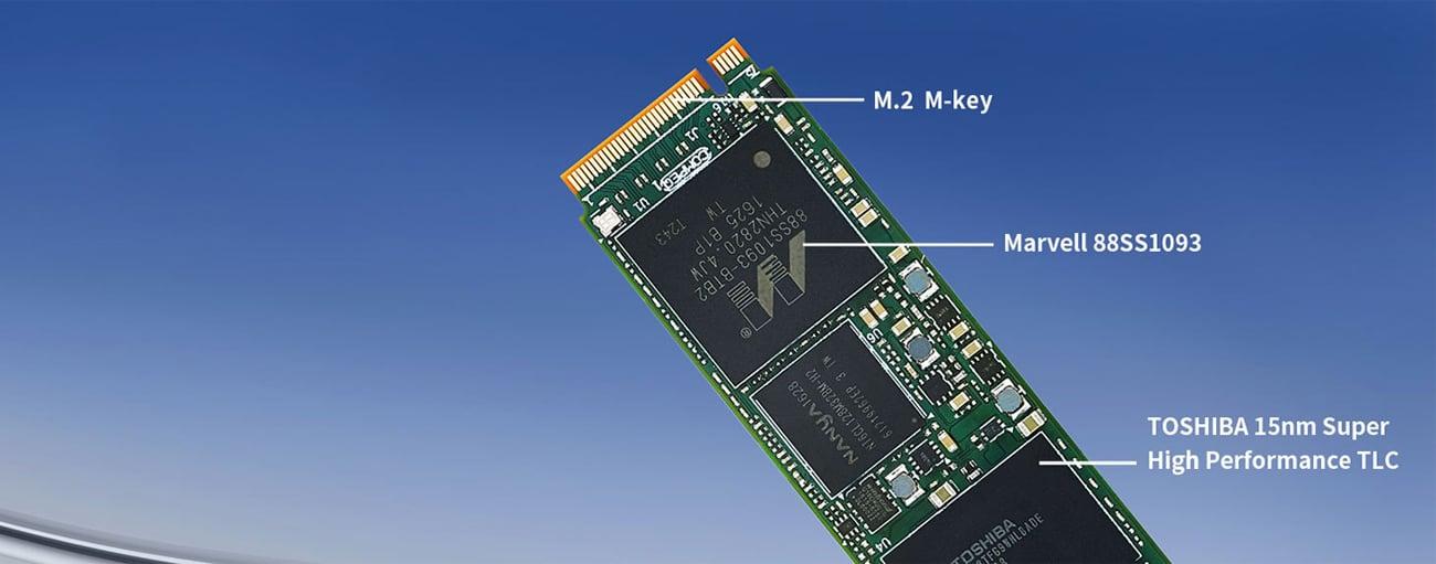Plextor 128GB M.2 PCIe 2280
