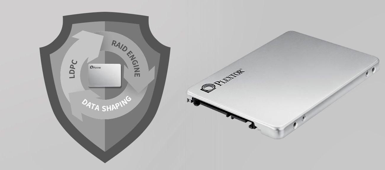 Dysk SSD Plextor 512GB - Bezpieczeństwo