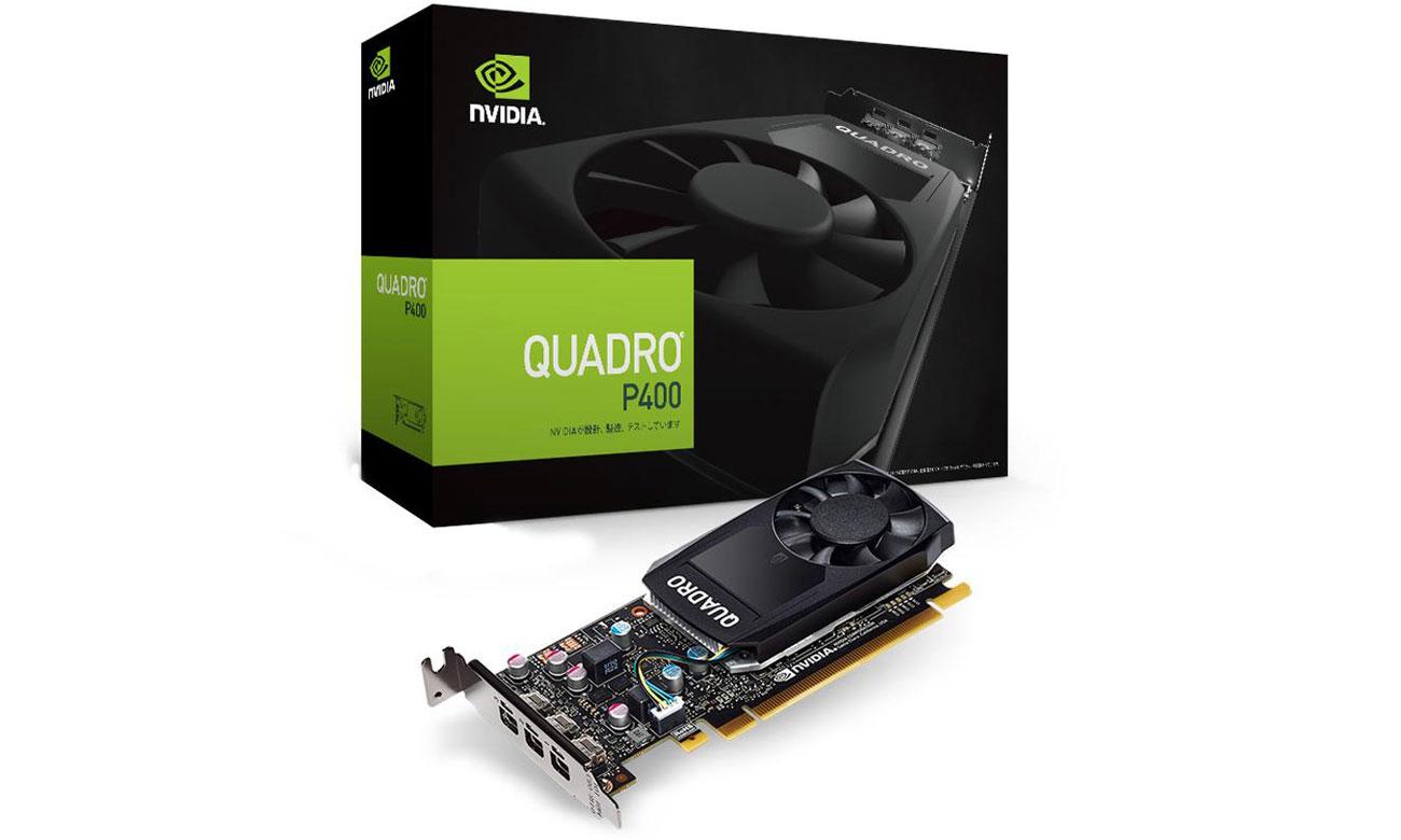 Karta graficzna NVIDIA Quadro P400 2GB