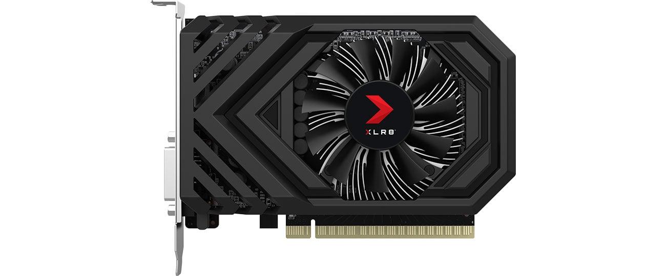 PNY GeForce GTX 1650 XLR8 Gaming OC Chłodzenie