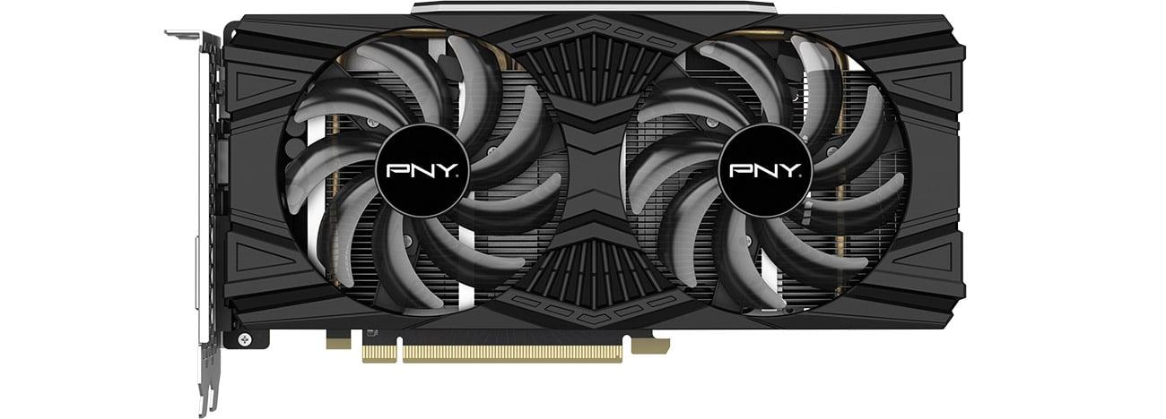 PNY GeForce GTX 1660 Ti Dual Fan Chłodzenie