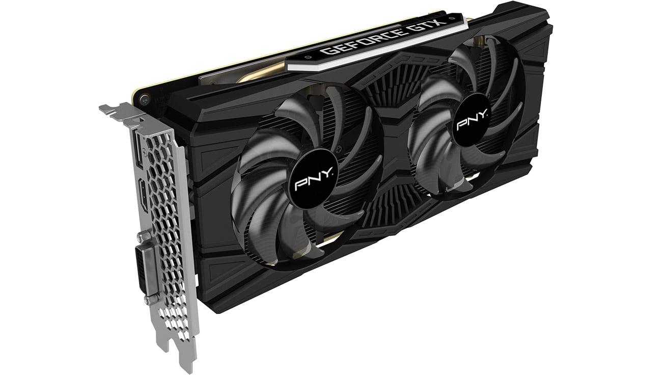 PNY GeForce GTX 1660 Ti Dual Fan Złącza