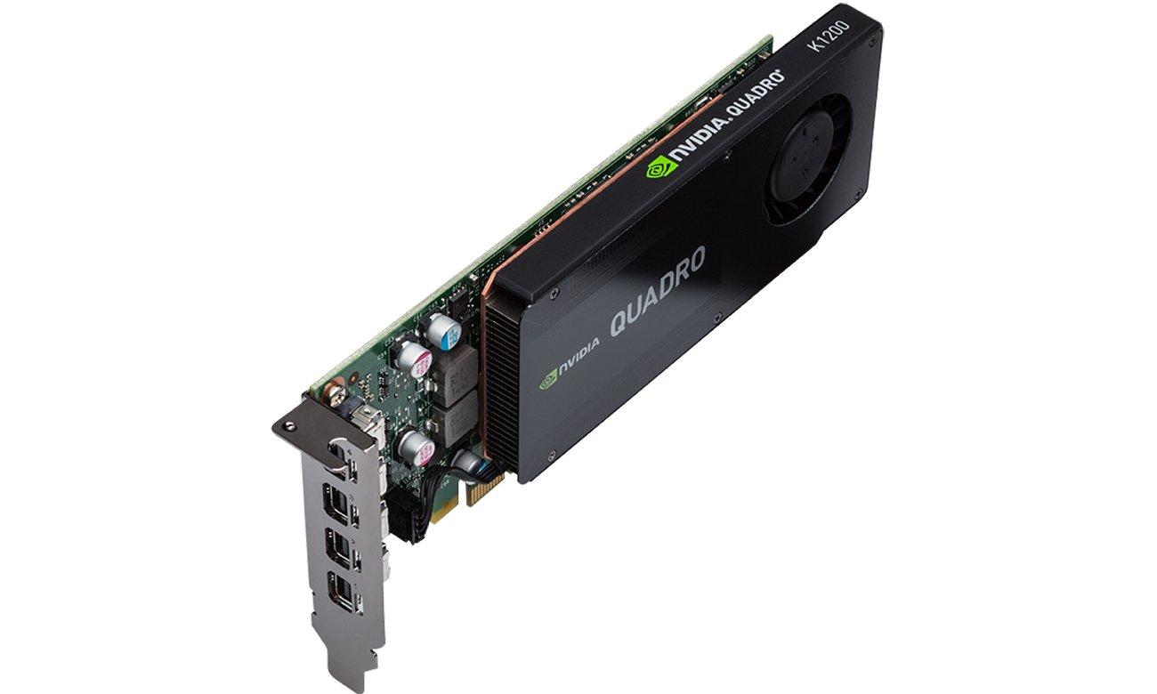 512 rdzeni CUDA i technologie NVIDIA