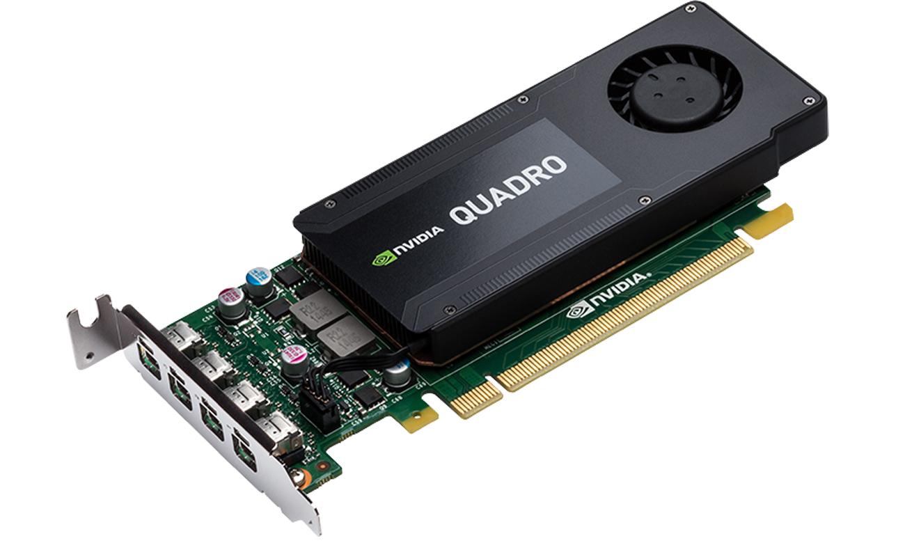 Stabilna praca NVIDIA Quadro K1200 DP 4GB