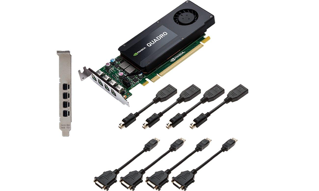 Stabilna praca NVIDIA Quadro K1200 4GB