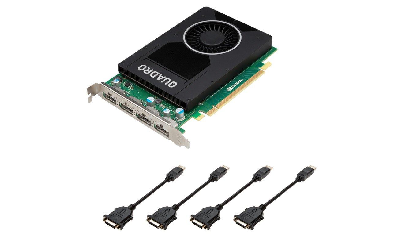 Karta graficzna NVIDIA Quadro M2000 4 GB