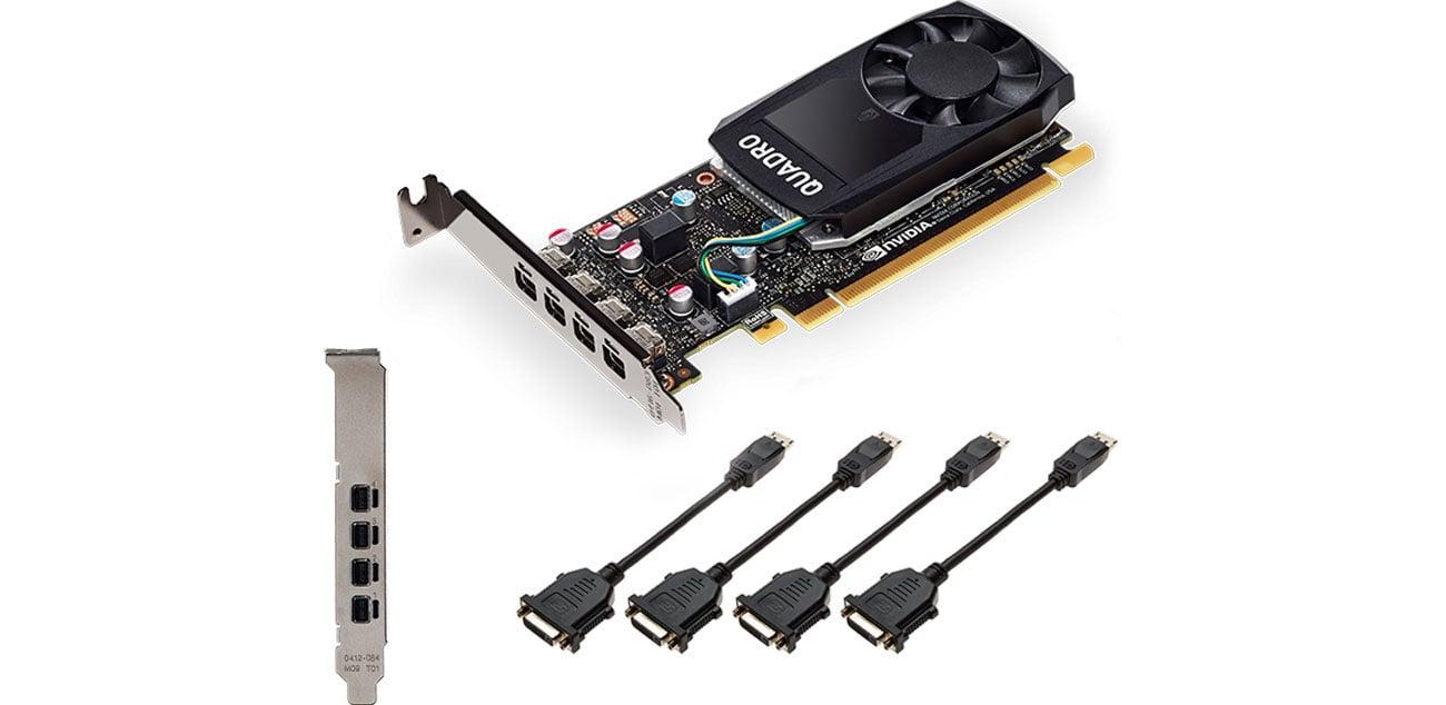 PNY Quadro P1000 DVI 4GB