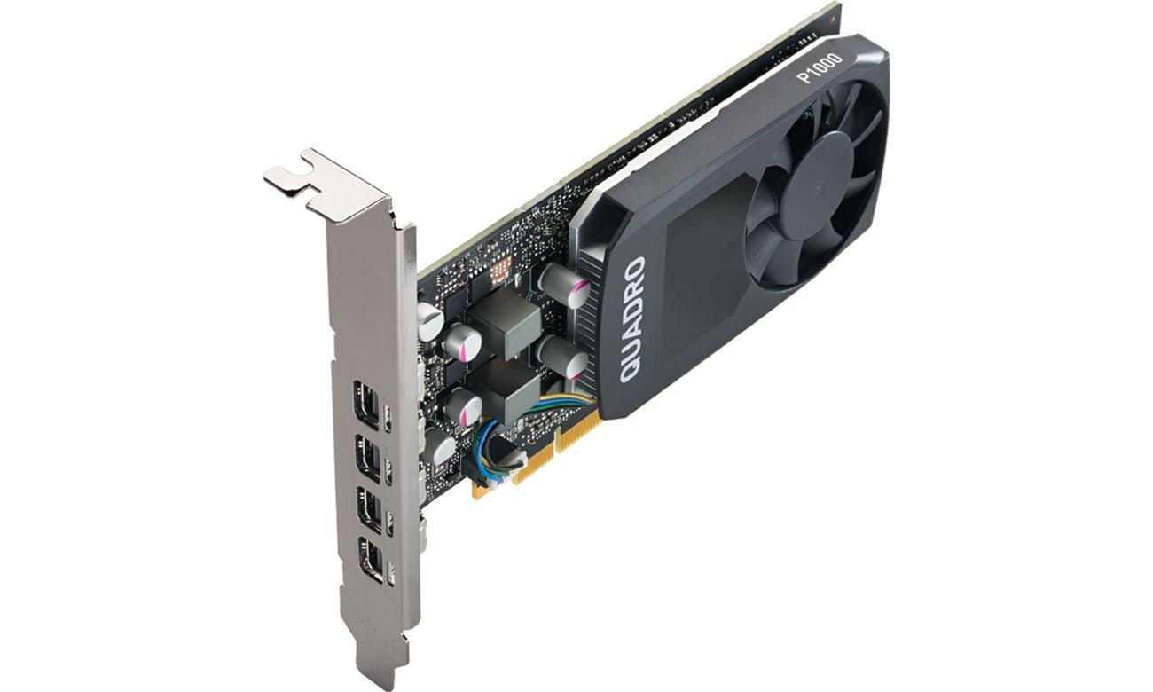 PNY Quadro P1000 V2 4GB - Niski profil