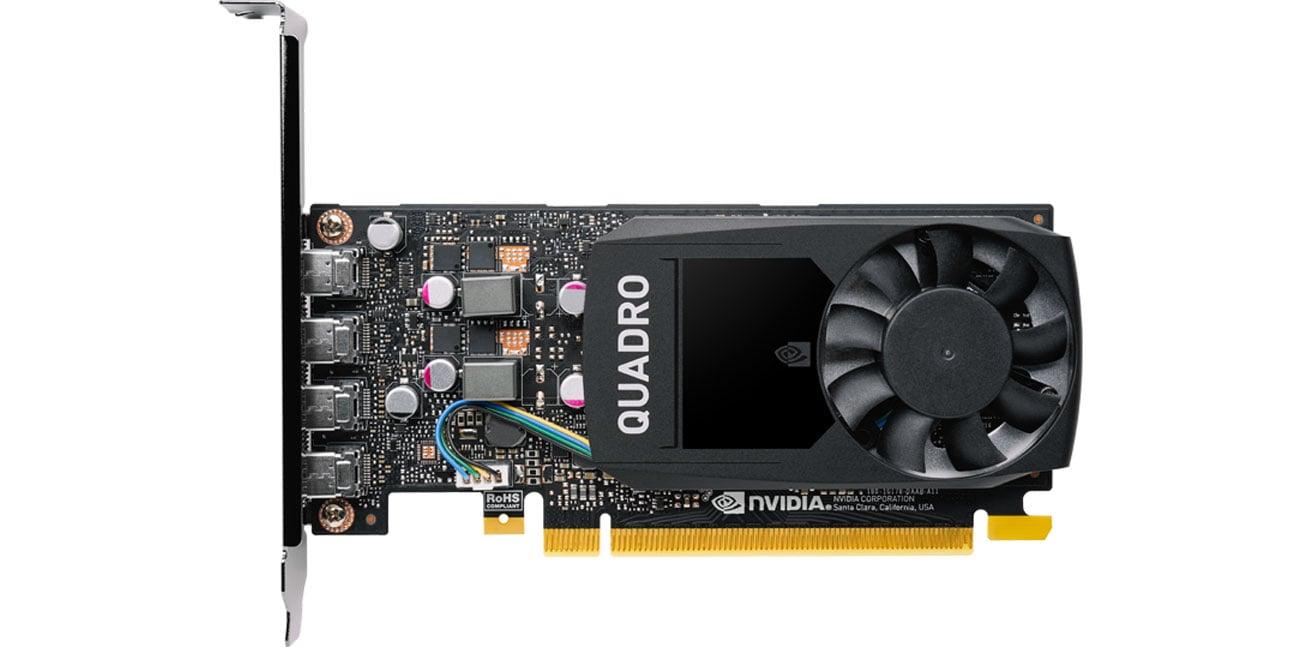 PNY Quadro P1000 V2 4GB - Chłodzenie