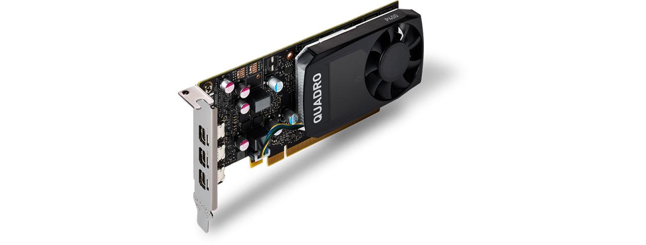 PNY Quadro P400 V2 DVI 2GB DDR5 VCQP400DVIV2-PB