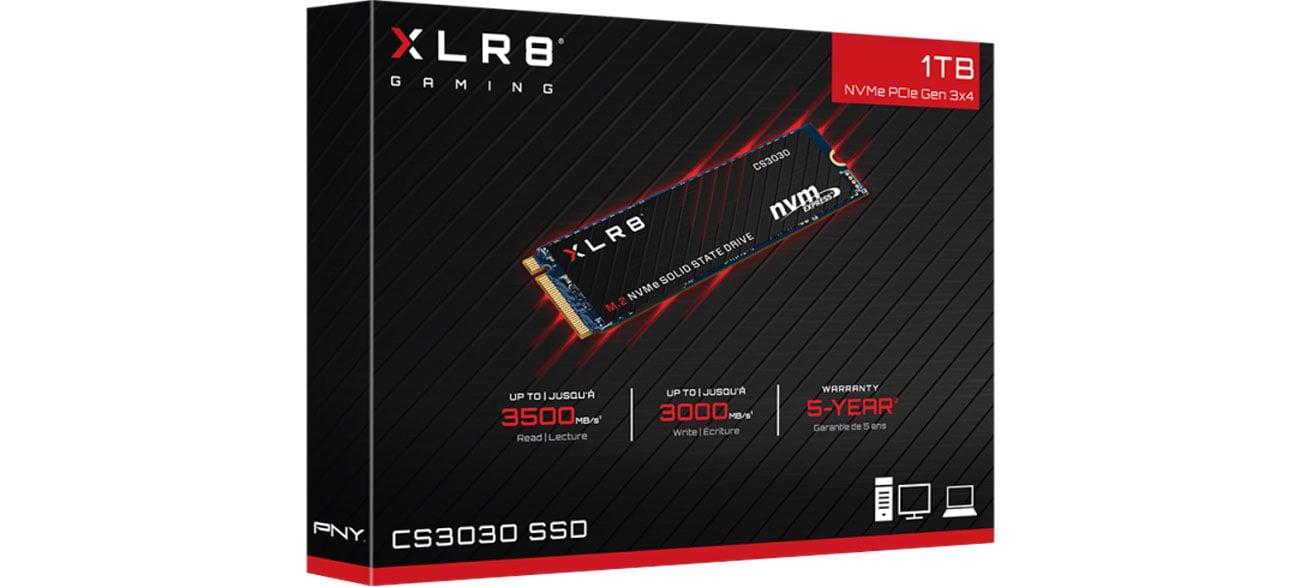 PNY XLR8 CS3030 M280CS3030-1TB-RB