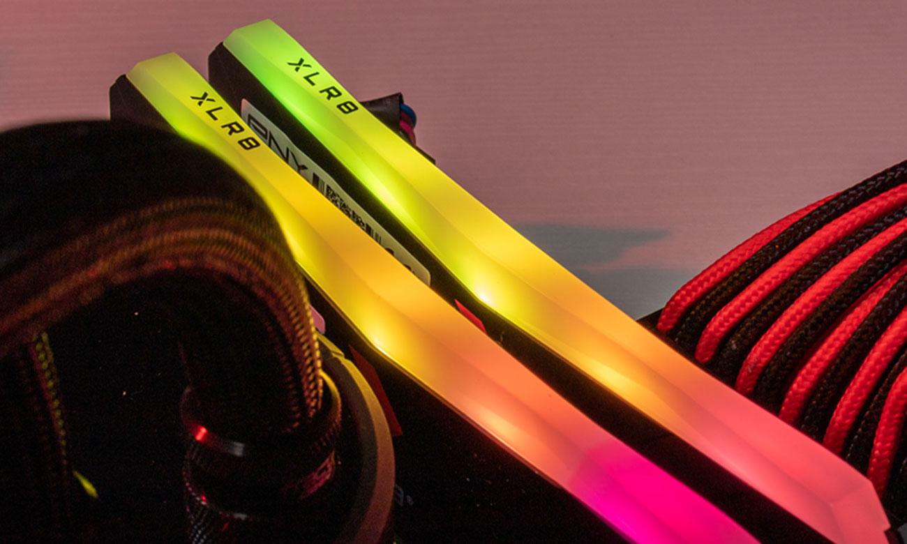 PNY XLR8 RGB - Podświetlenie RGB