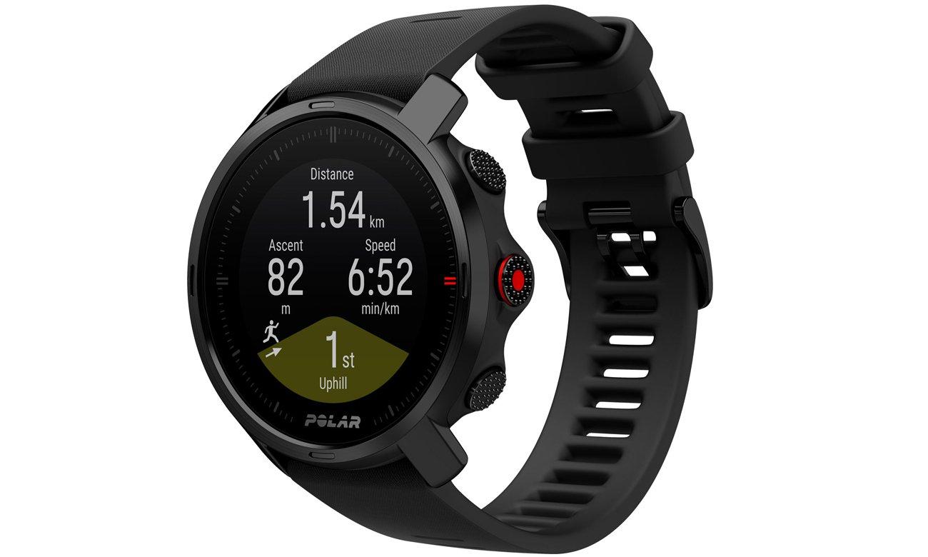 Zegarek sportowy GPS Polar Grit X Czarny M/L