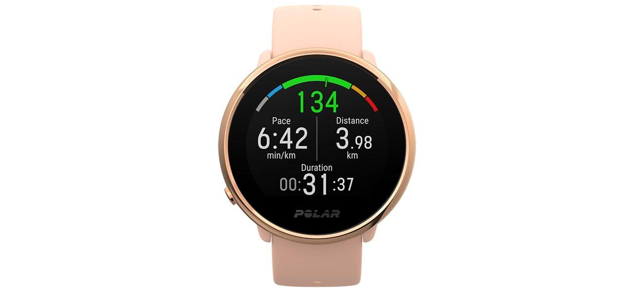 Zegarek sportowy Polar Ignite w kolorze czarnym S