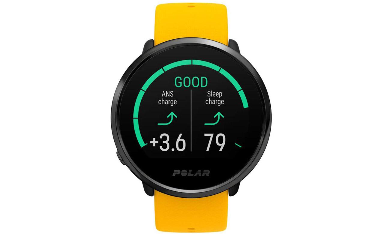 Zegarek sportowy Polar Ignite w kolorze żółtym M/L