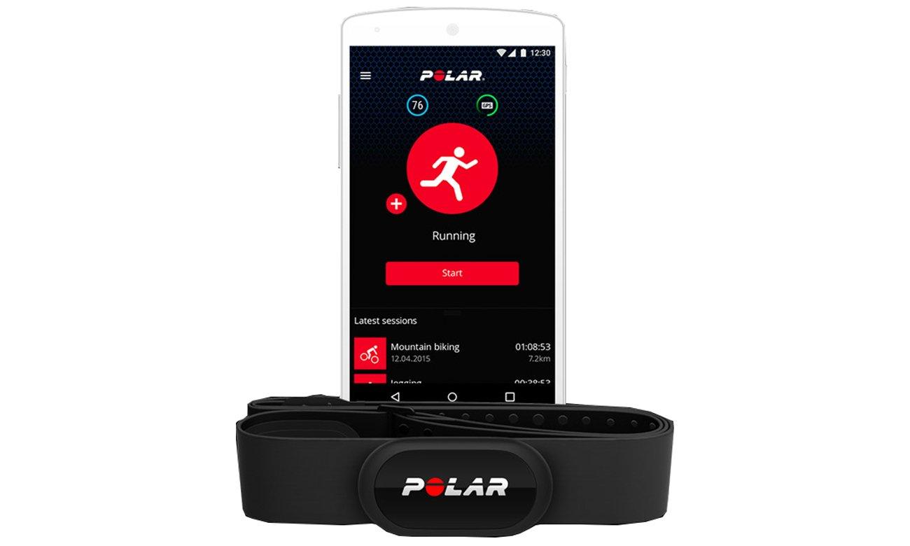 Aplikacja Polar Beat