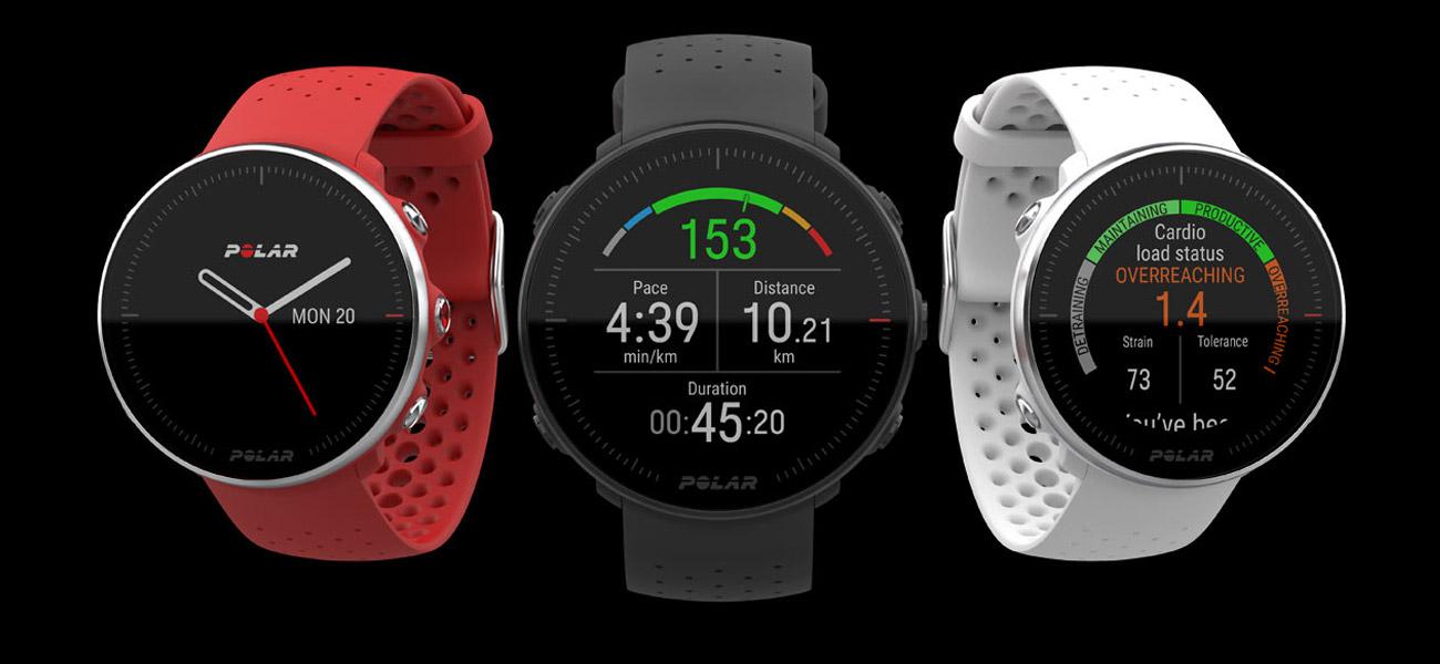 Polar Vantage M Zaawansowany zegarek z GPS i pomiarem tętna nadgarstka
