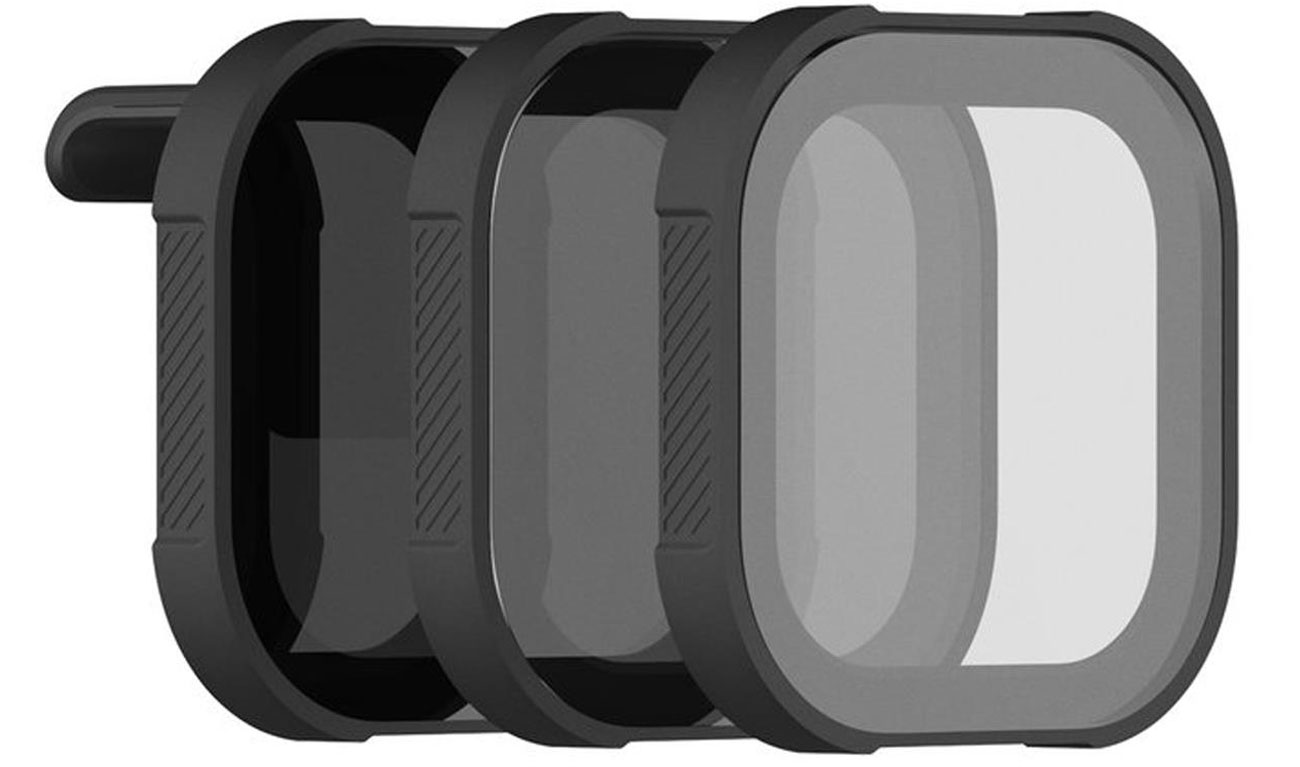 Zestaw 3 filtrów PolarPro Shutter do GoPro HERO8 Black