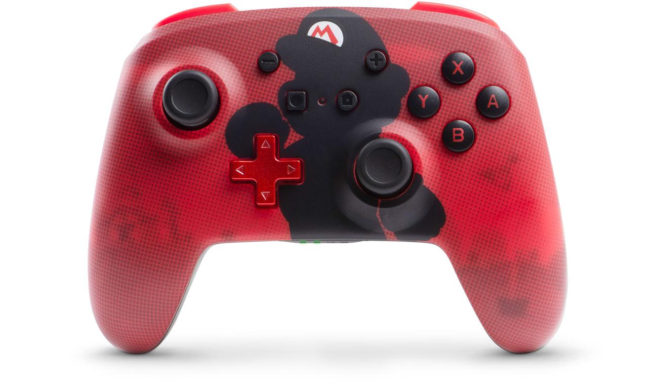 Pad bezprzewodowy Power A Super Mario do Nintendo Switch
