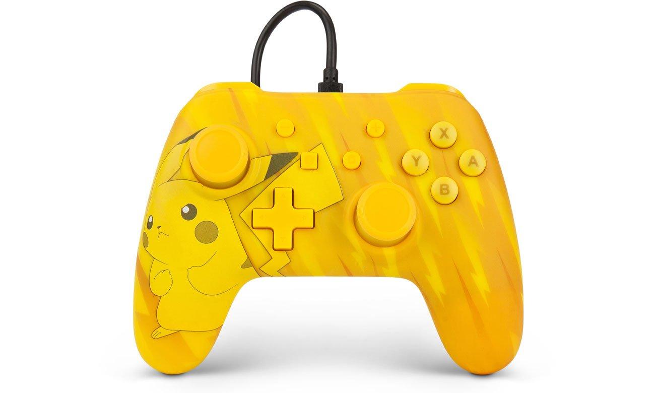 Pad przewodowy Power A Pokemon Static Pikachu do Nintendo Switch