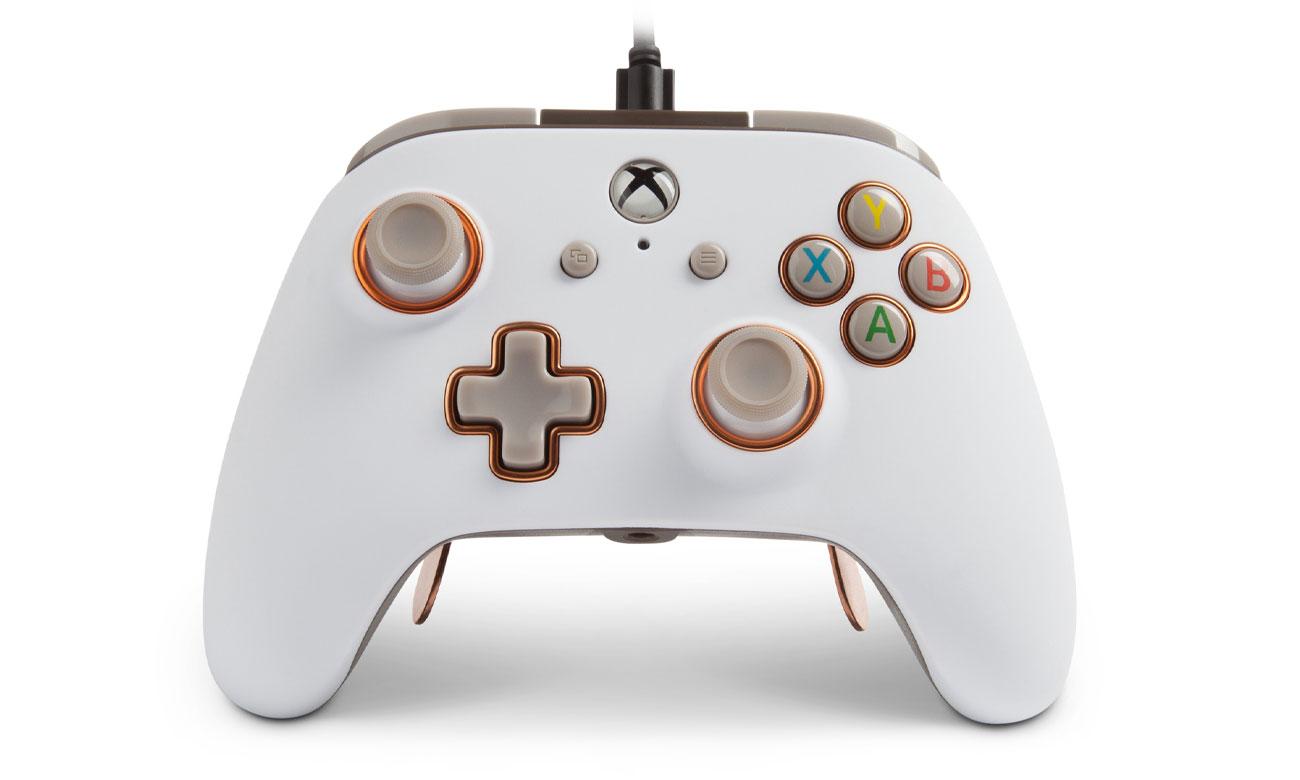 Kontroler przewodowy Power A Fusion PRO Biały do Xbox One