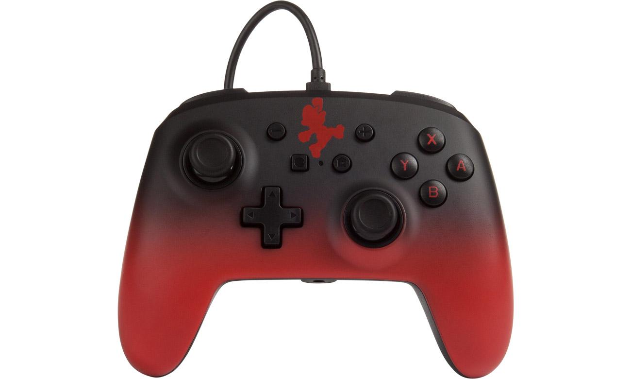 Przewodowy pad PowerA Mario Fade do Nintendo Switch