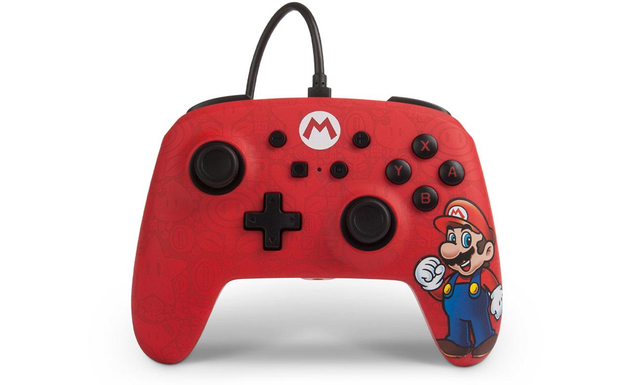 Pad przewodowy Power A Mario do Nintendo Switch