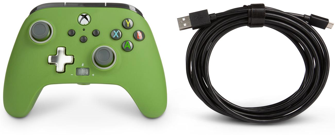 Kontroler przewodowy PowerA Enhanced do Xbox Series X|S Soldier
