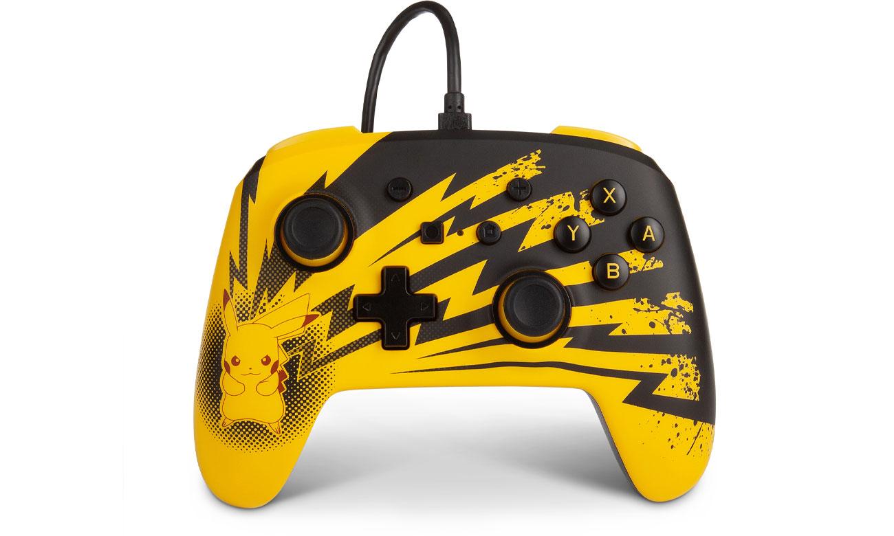 Pad przewodowy Power A Pokemon Lightning Pikachu do Nintendo Switch
