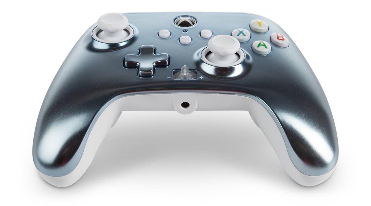 Kontroler przewodowy PowerA Enhanced do Xbox Series X|S Metallic Ice