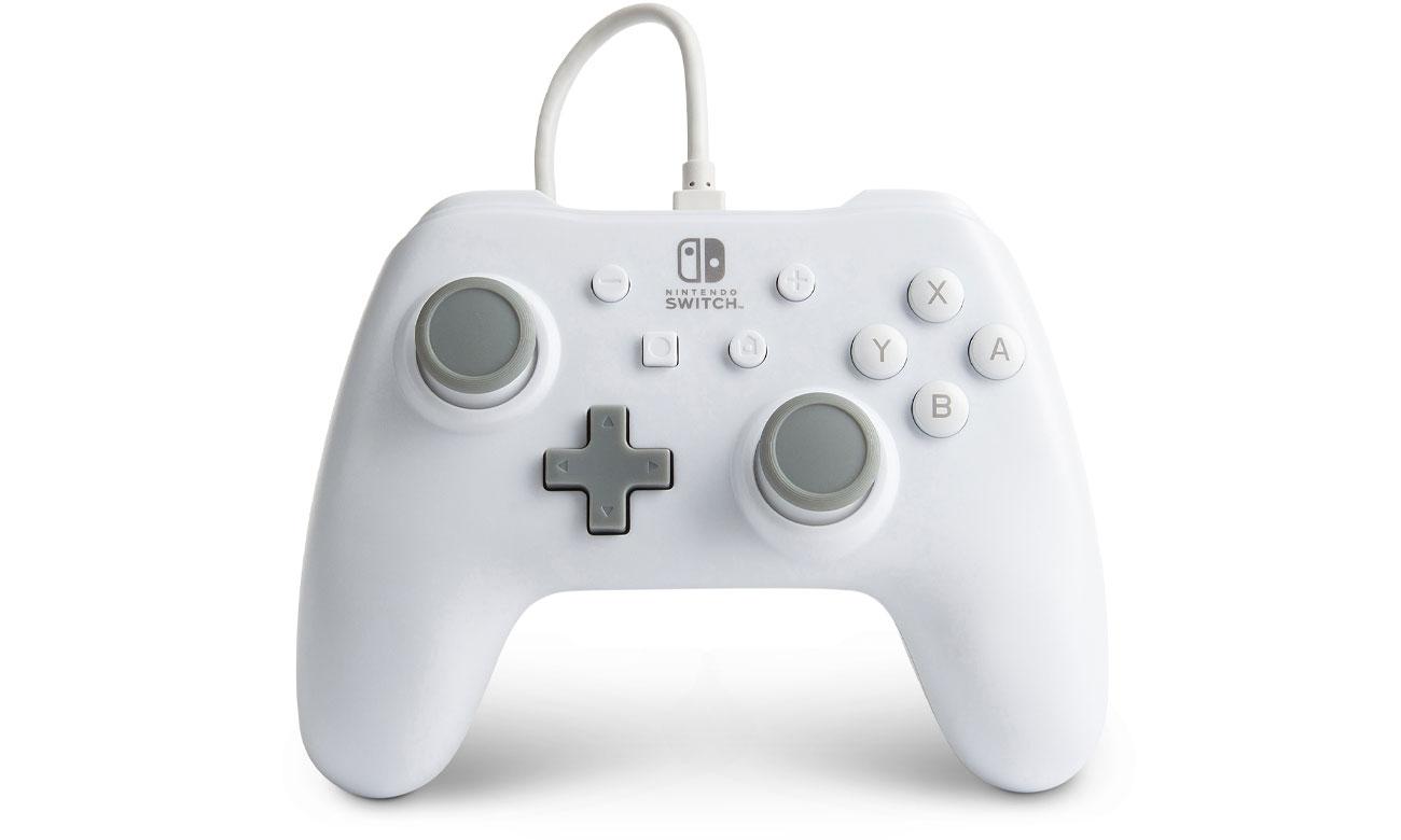 Pad przewodowy Power A Biały do Nintendo Switch