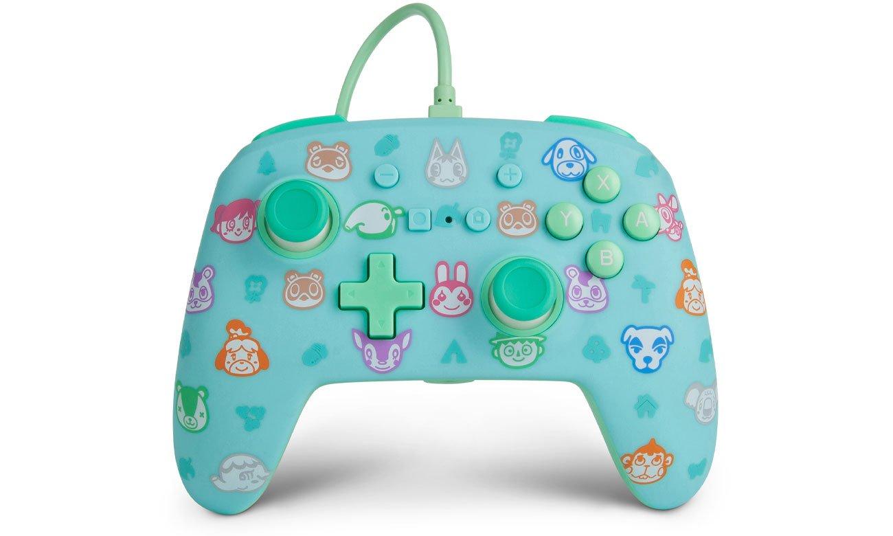Pad przewodowy Power A Animal Crossing New Horizons do Nintendo Switch