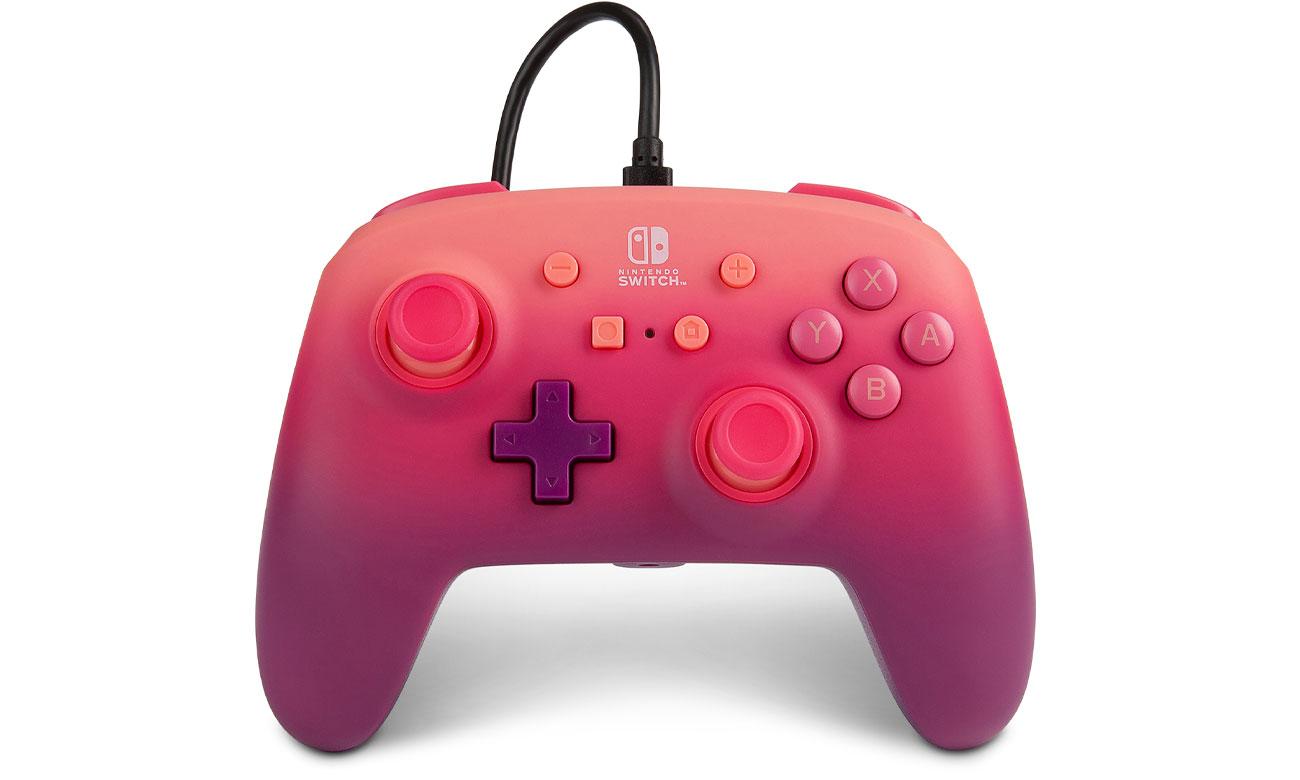 Pad przewodowy Power A Fuchsia Fantasy do Nintendo Switch