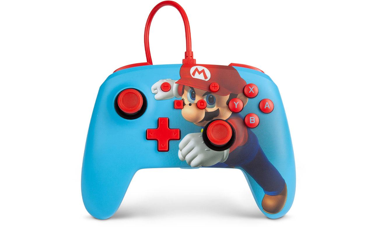 Pad przewodowy Power A Super Mario Punch do Nintendo Switch