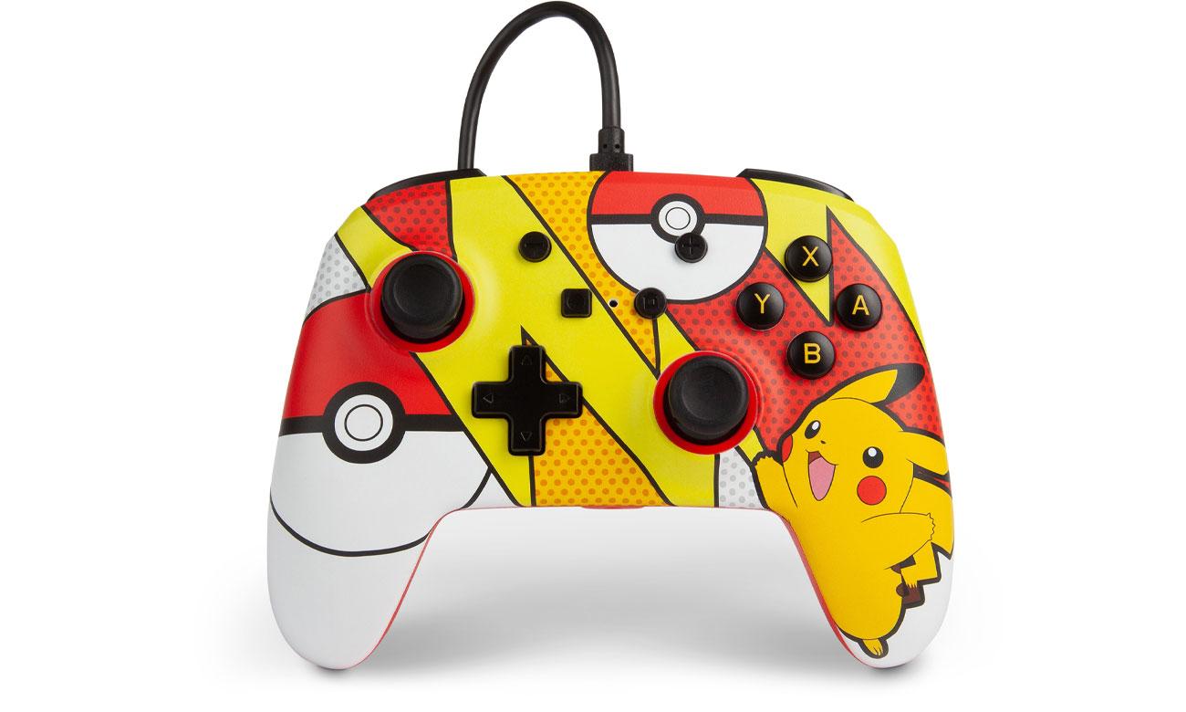 Pad przewodowy Power A Pokemon Pikachu Pop do Nintendo Switch