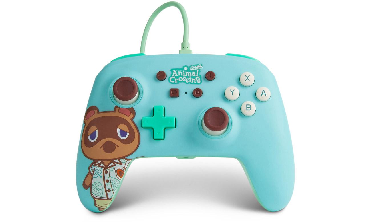 Przewodowy pad PowerA Animal Crossing Tom Nook do Nintendo Switch