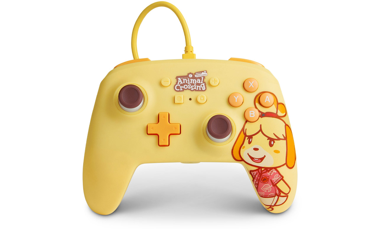 Przewodowy pad PowerA Animal Crossing Isabelle do Nintendo Switch