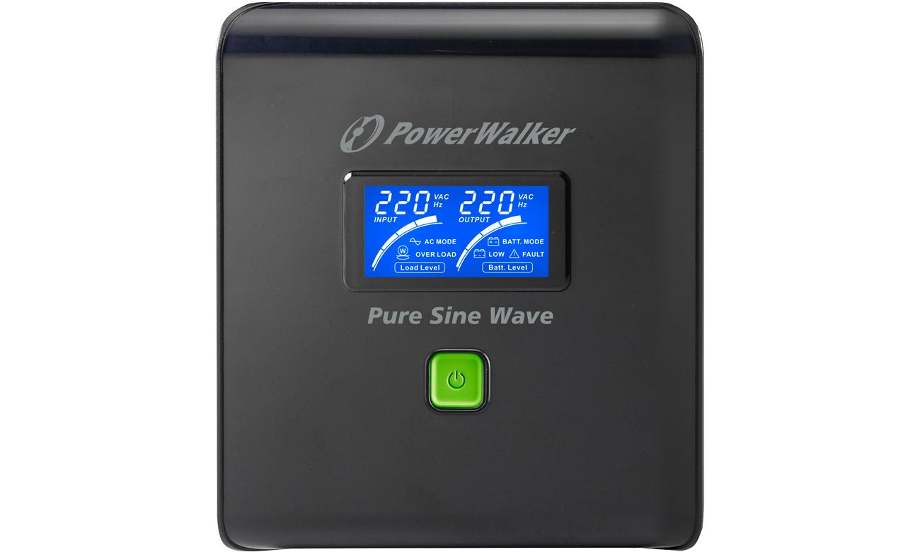 Power Walker VI 1000 PSW widok z przodu