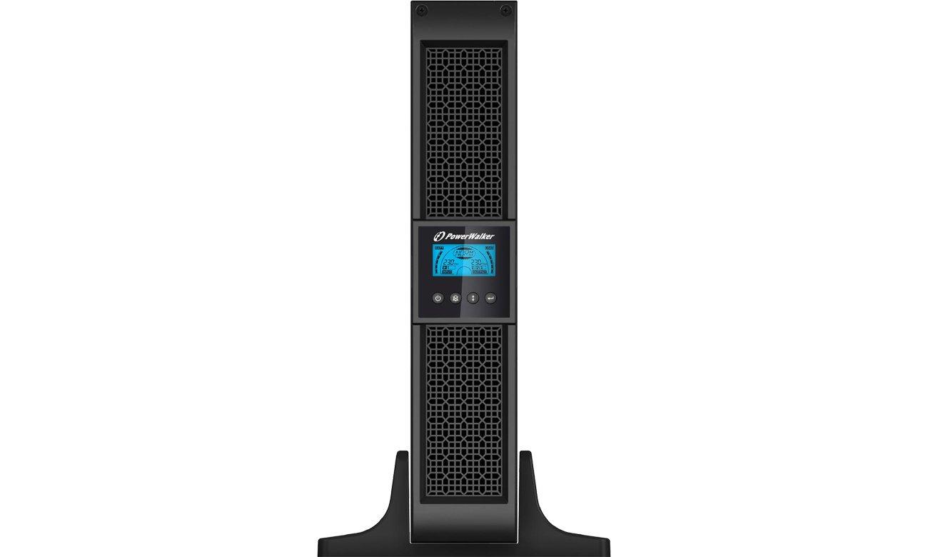 Power Walker LINE-INTERACTIVE 1500VA 8X IEC USB RS-232 LCD RACK