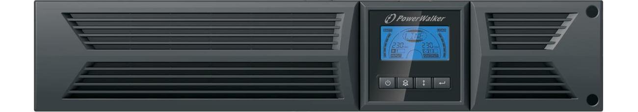 Zasilacz awaryjny UPS Power Walker LINE-INTERACTIVE 3000VA 8X IEC 1X IEC/C19 USB LCD VI 3000 RT HID
