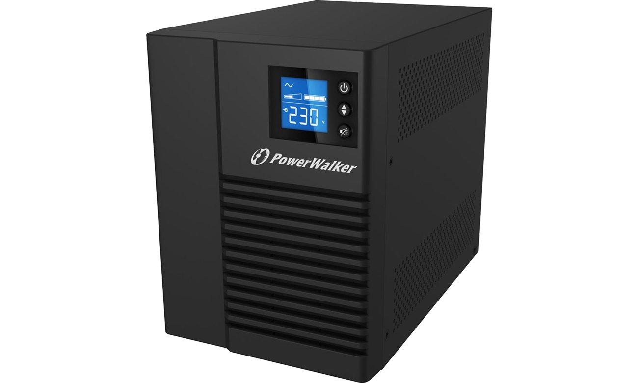 Power Walker VI 750 T/HID (750VA/500W) 4XIEC USB HID LCD VI 750T HID LINE-INTERACTIVE