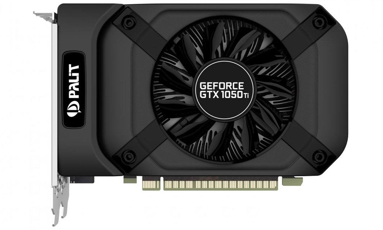 Palit GeForce GTX 1050 Ti StormX Widok z góry