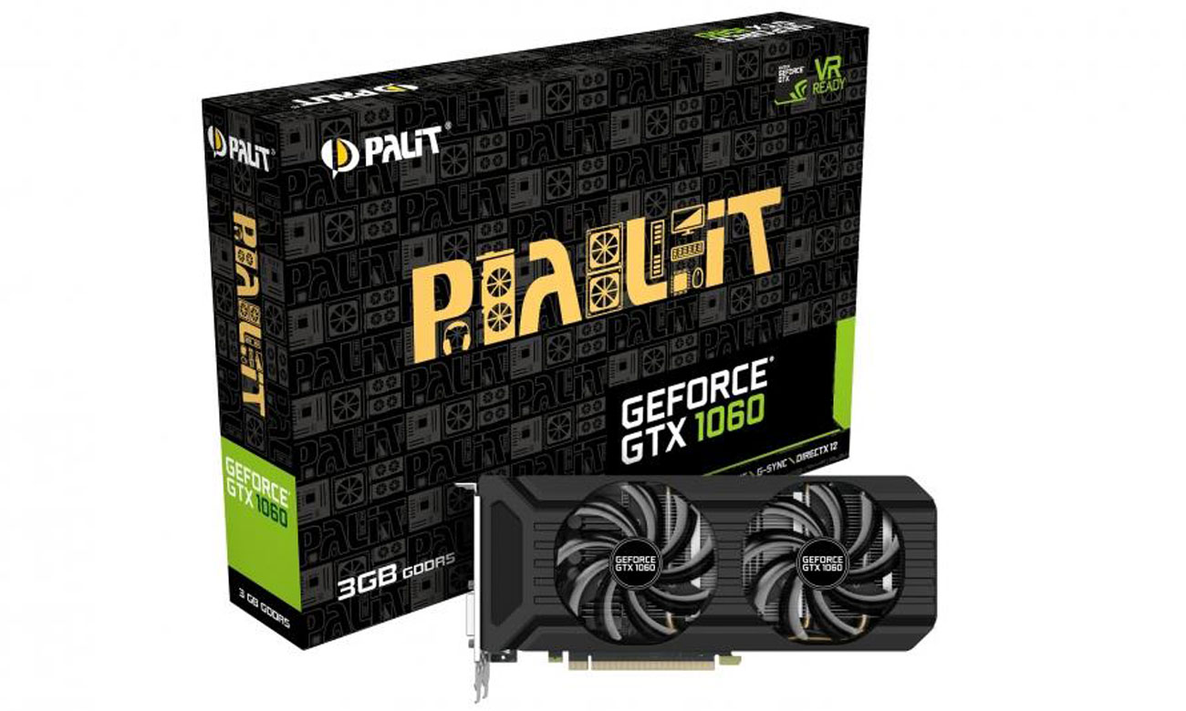 Palit GeForce GTX 1060 Dual 3 GB