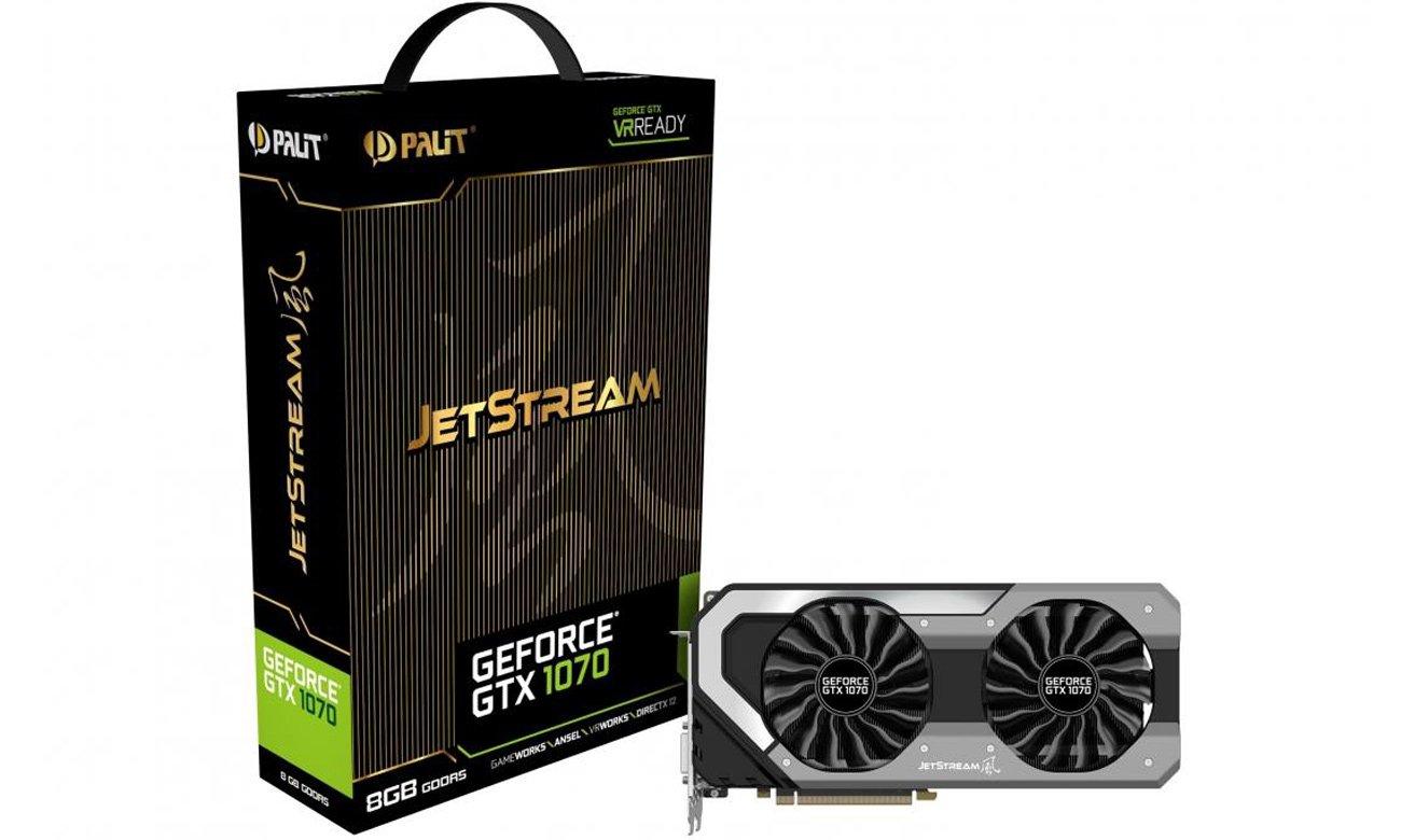 Karta graficzna Palit GeForce GTX 1070 JetStream 8GB GDDR5