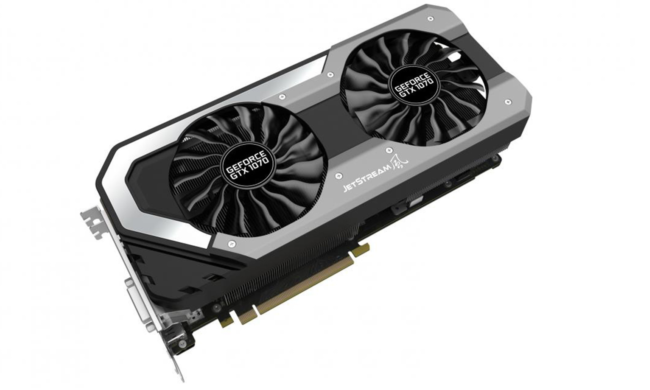 8-fazowe PWM w Palit GeForce GTX 1070 Super JetStream