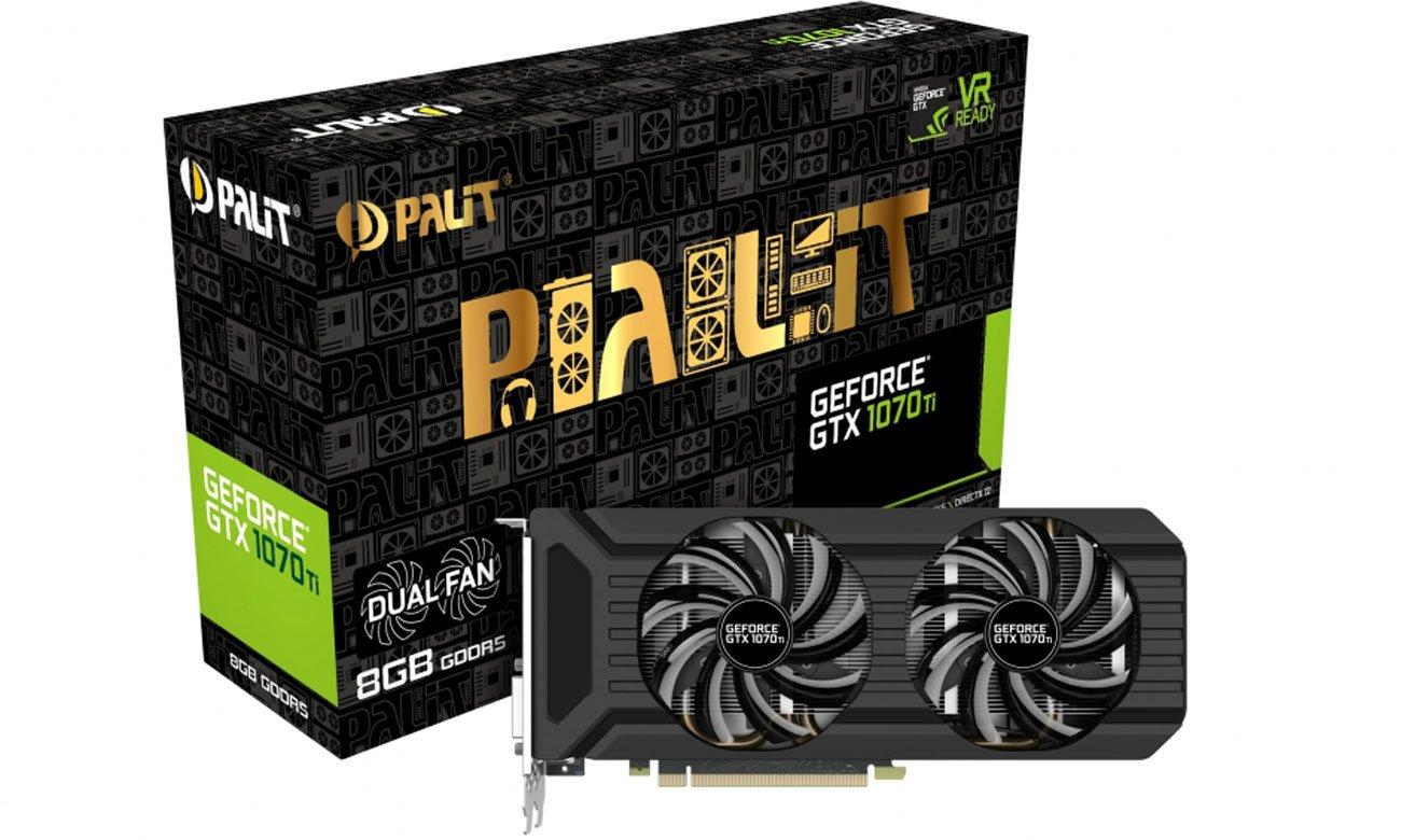 Karta graficzna Palit GeForce GTX 1070 Ti Dual