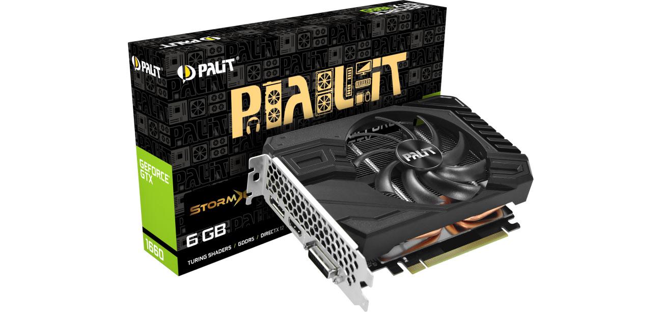 Karta graficzna NVIDIA Palit GeForce GTX 1660 StormX 6GB GDDR5