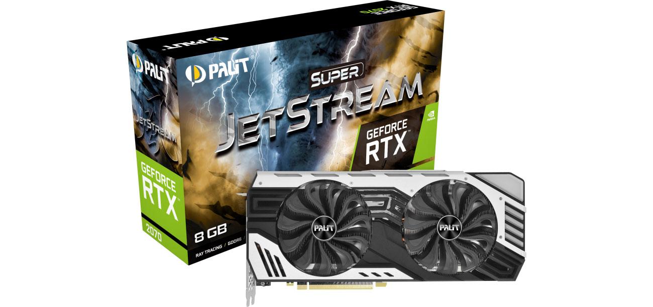 Karta graficzna Palit GeForce RTX 2070 Super JetStream 8GB GDDR6 NE62070V20P2-1061J
