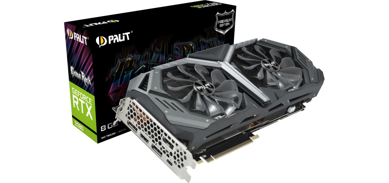 Karta graficzna Palit GeForce RTX 2080 GameRock Premium 8GB GDDR6 NE62080H20P2-1040G